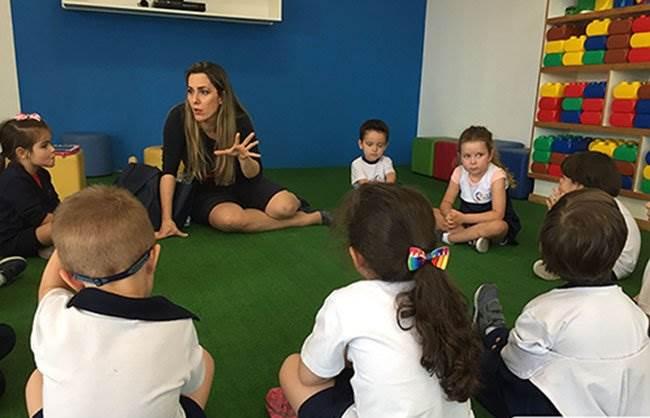 escolas particulares santo andré educação infantil