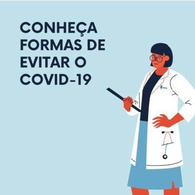 formas de evitar o coronavirus